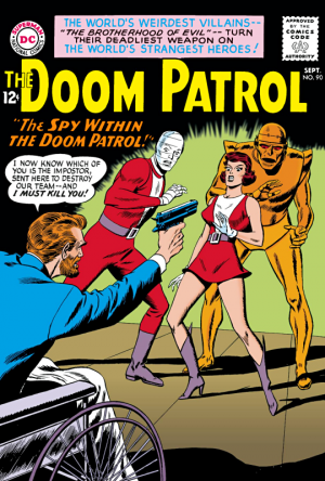 Doom Patrol 90 - © DC Comics